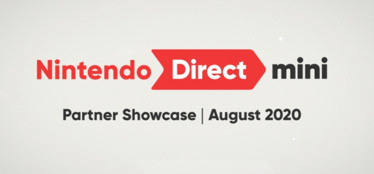 The Nintendo Direct Mini: Partner Showcase August 2020