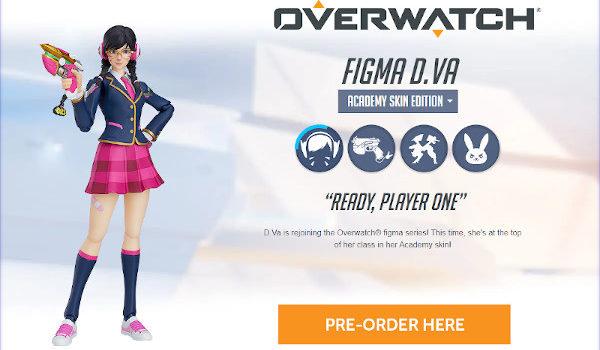 Figma Overwatch D.VA Academy Skin Edition