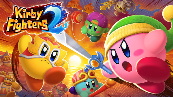 Kirby Fighters 2 Announced For The Nintendo Switch And Available Now On The eShop