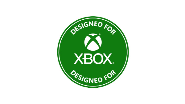 A New Designed for Xbox Badge