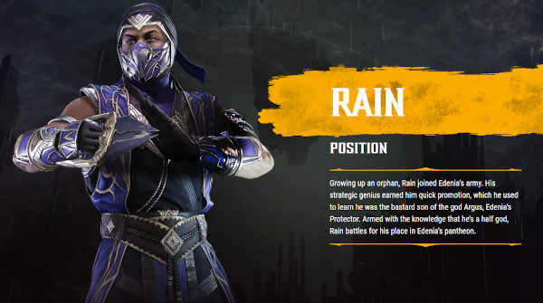 Mortal Kombat 11 Ultimate: Official Rain Gameplay Trailer