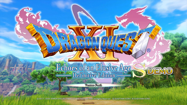 Dragon Quest XI S Demo Now Available on the Xbox Store and PlayStation Store