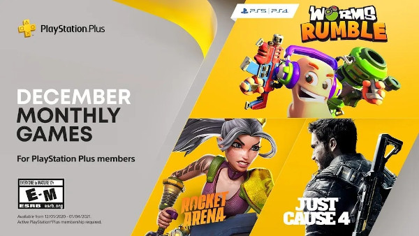 PlayStation Plus Games for December 2020