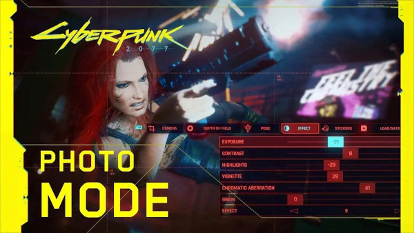 Cyberpunk 2077 Photo Mode Trailer
